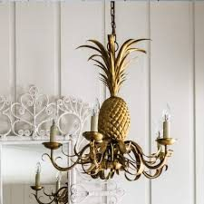 pineapple chandelier
